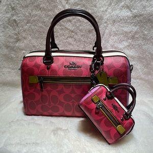 Coach crossbody purse coin case